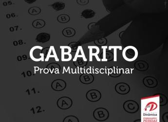 Gabarito Prova Multidisciplinar 2017.2